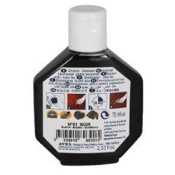 Recolorant pour cuir Juvacuir 75 ml SAPHIR NOIR
