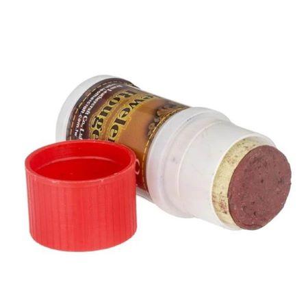 Bâtonnet de pâte à affûter au cuir - Pâte à polir - ROUGE - GRAIN MOYEN