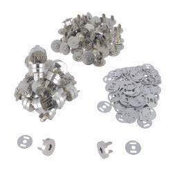 Lot de 50 TOP magnétique ECONOMIQUE - d=18mm - Nickelé
