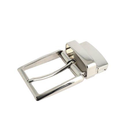 Boucle de ceinture à griffe ELOI - NICKELÉ - 35 mm