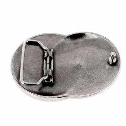 Boucle de ceinturon INF - ARGENT VIEILLI - 40mm