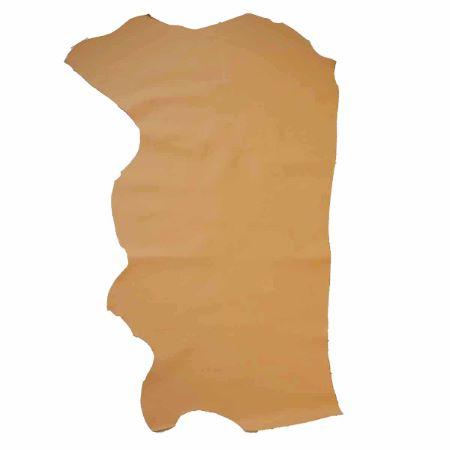 Peau de cuir de veau doublure ASTAR - CAMEL