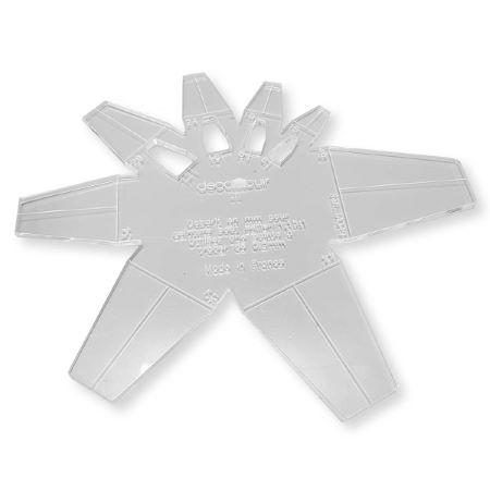 Gabarit Bouts de ceinture SELLIER 1,15 : 1 en mm - Deco Cuir