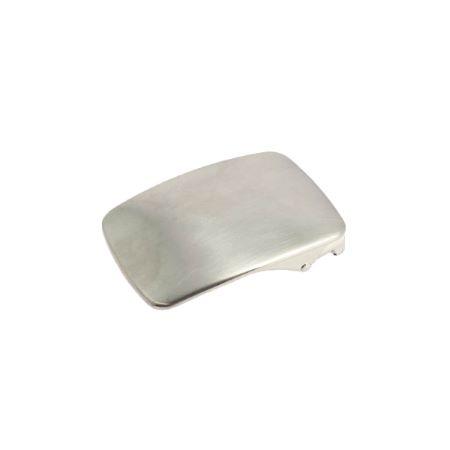 Boucle de ceinture à griffe DANY - NICKELÉ SATINÉ - 30 mm