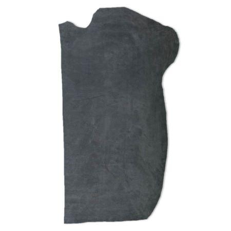 Croûte de cuir de veau - velours - GRIS