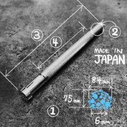 Matoir sur manche OKA - Matting texture bulle 8,4mm - M887