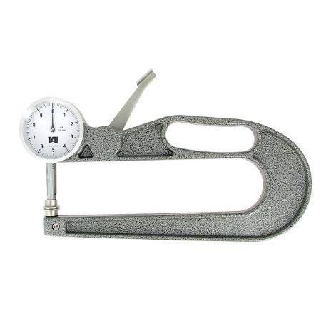 Pige pour mesurer l'épaisseur du cuir - Profondeur 200 mm