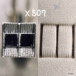 Matoir sur manche OKA - Basketweave double fagot 10mm - X507