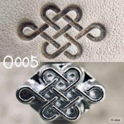 Matoir sur manche OKA - Noeud celtique - O005