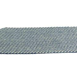 Sangle synthétique BLEU rayé BLANC - Largeur 40 mm - 3 mètres