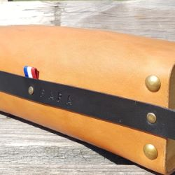 Ruban polyester tricolore Drapeau Français - Largeur 15 mm