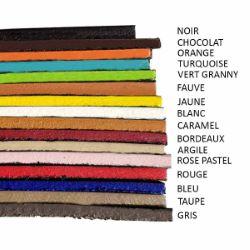 Finition de tranche NOIR MAT pour cuir - Deco Cuir - 250 ml