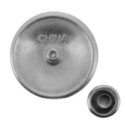 Concho INDIEN - 21mm - Nickelé mat