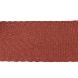 Sangle coton MARRON BRIQUE - Largeur 65 mm - 3 mètres