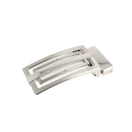 Boucle de ceinture à griffe ELIO - NICKELÉ SATINÉ - 30 mm