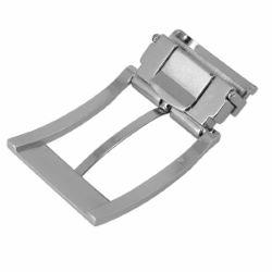 Boucle de ceinture à griffe DOV - NICKELÉ SATINÉ - 35 mm