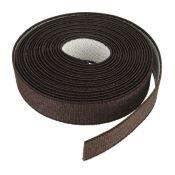Sangle élastique CHOCOLAT - Largeur 19 mm - 3 mètres