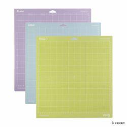 Cricut Explore/Maker - Assortiment 3 tapis de coupe 30,5x30,5cm