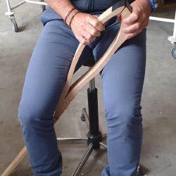 Pince de sellier pliante pour coudre le cuir