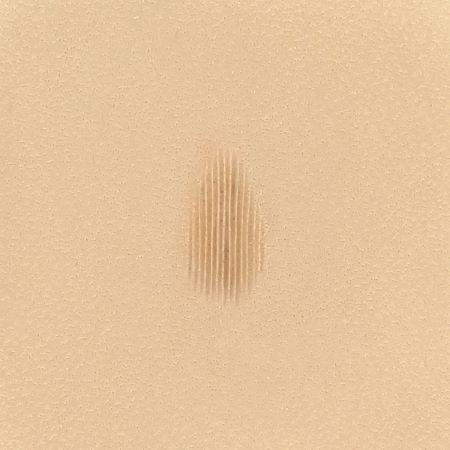 Matoir avec manche - Pear Shader strié vertical 7,5 mm - 6209 - P209