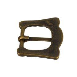 Boucle en laiton - KIA - LAITON VIEILLI - 19mm