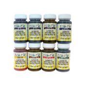 Lot de 8 teintures opaques base aqueuse - Eco Flo #05