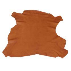 Peau entière de cuir de basane FRANCE - ANILINE - COGNAC BAF02