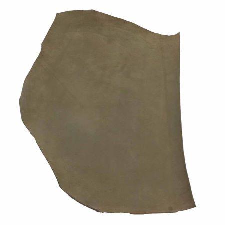 Croûte de cuir de veau - Velours - VERT TILLEUL 749