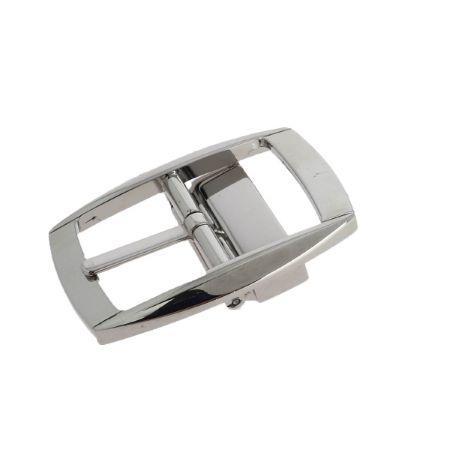 Boucle double à griffe LOAN - NICKELÉ - 30 mm