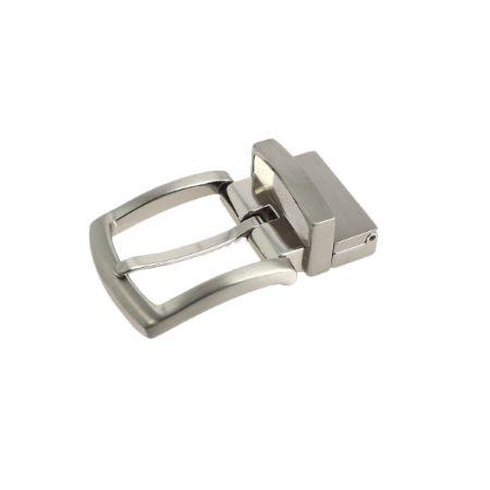 Boucle de ceinture à griffe SLY - NICKELÉ SATINÉ - 30 mm