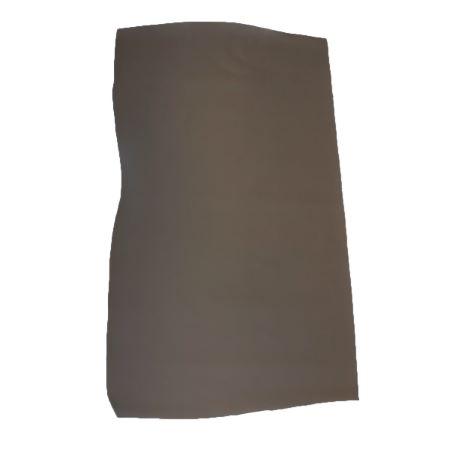 Peau de croûte de cuir enduite grain saffiano - TAUPE FONCÉ A55
