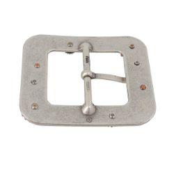 Boucle double STEAMPUNK rectangle avec ardillon - 38 mm