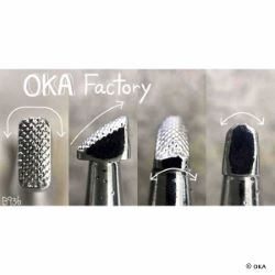 Matoir sur manche OKA - Beveler quadrillé 3mm - B936