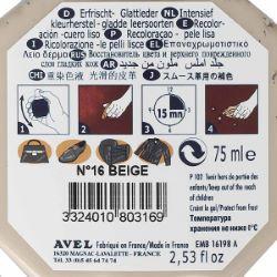 Recolorant BEIGE pour cuir Juvacuir 75 ml SAPHIR