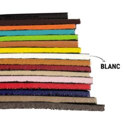 Finition de tranche BLANC MAT pour cuir - Deco Cuir - 250 ml