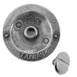Concho à visser CHIEN CELTIQUE - 25mm - Argent vieilli