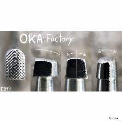 Matoir sur manche OKA - Figure Carving petite voûte 4mm - F898