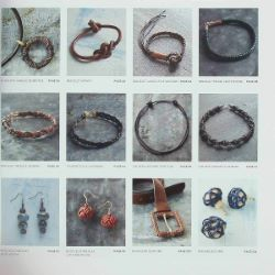 Tressage du cuir - Créez bijoux et accessoires