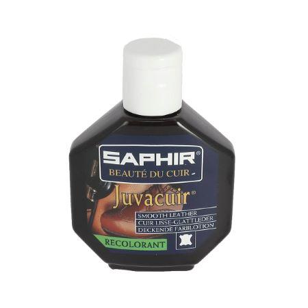 Recolorant pour cuir Juvacuir 75 ml marron fonce SAPHIR