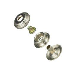 Lot de 10 adaptateurs bouton pression pour concho - Line 24 : 15mm