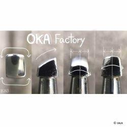 Matoir sur manche OKA - Beveler lisse 4mm - B203