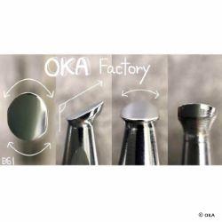 Matoir sur manche OKA - Undercut Beveler lisse 6mm - B61