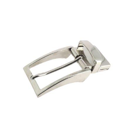 Boucle de ceinture à griffe ALEX - NICKELÉ - 30 mm