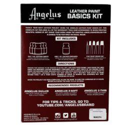 Kit de base Angelus - Peinture pour cuir
