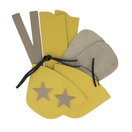 kit DIY chaussons bébé