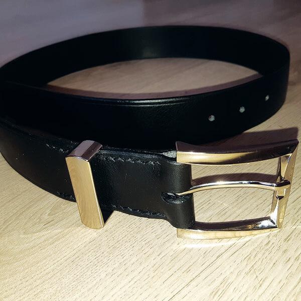réalisation d'une ceinture en cuir