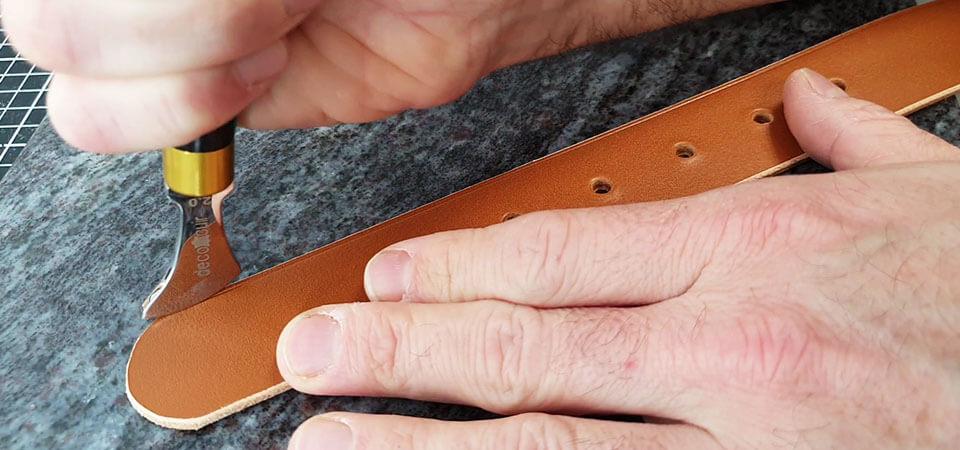 filet décoratif ceinture en cuir