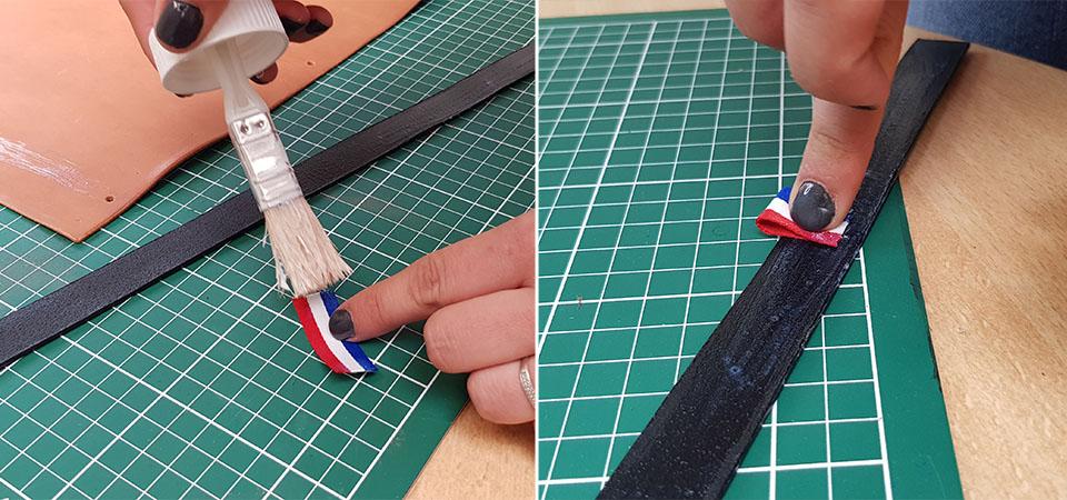coller drapeau français