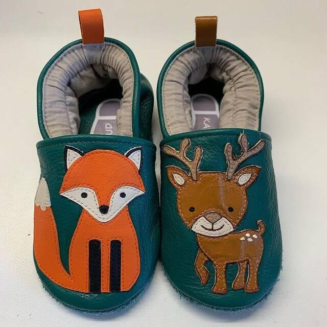 chaussons en cuir bébé 3