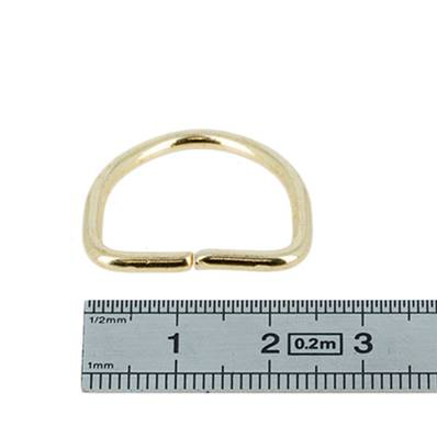 anneau demi rond